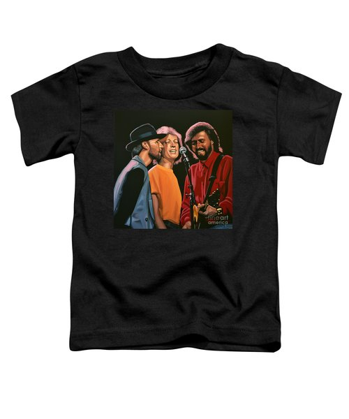The Bee Gees Toddler T-Shirt by Paul Meijering