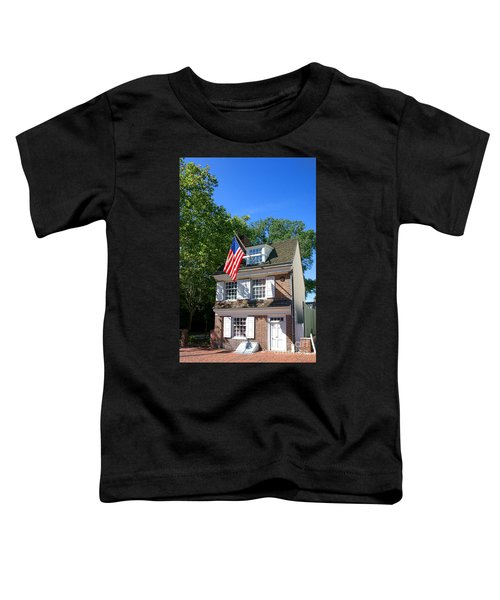 The Betsy Ross House Toddler T-Shirt