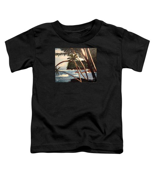 The Big Island Toddler T-Shirt