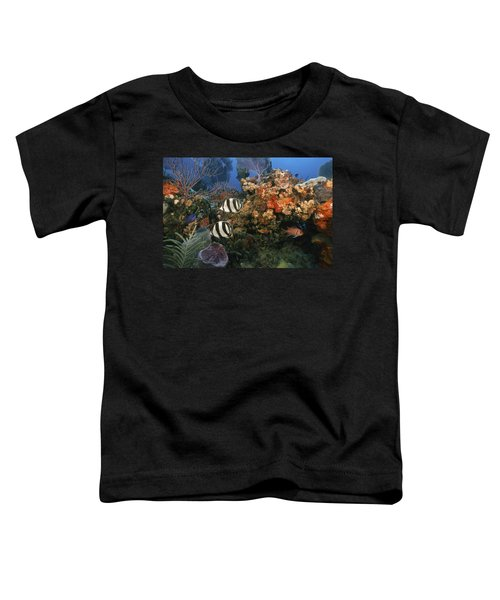 The Butterflyfish On Reef Toddler T-Shirt