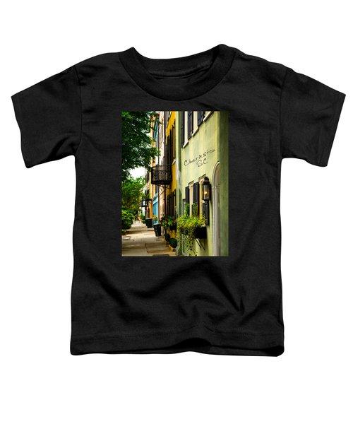 The Charm Of Charleston Toddler T-Shirt
