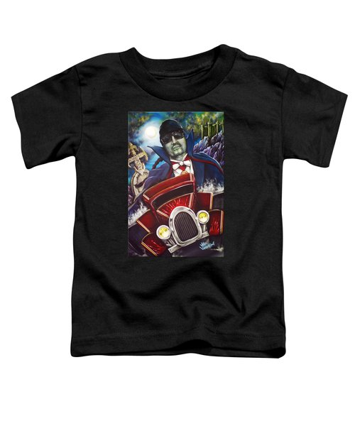 The Count Cool Rider Toddler T-Shirt