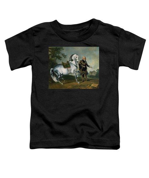 The Dappled Horse Scarramuie En Piaffe Toddler T-Shirt