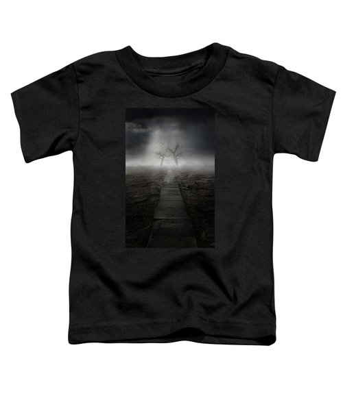 Toddler T-Shirt featuring the photograph The Dark Land by Jaroslaw Blaminsky