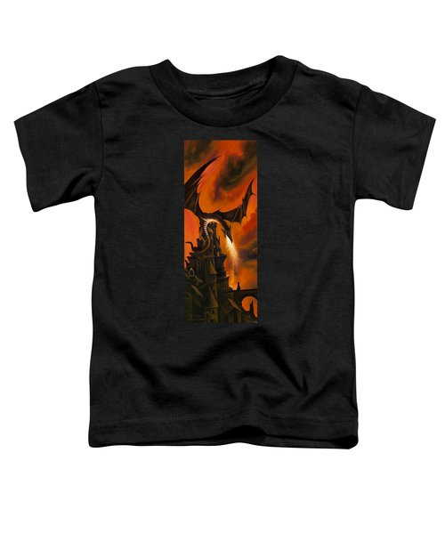 The Dragon's Tower Toddler T-Shirt