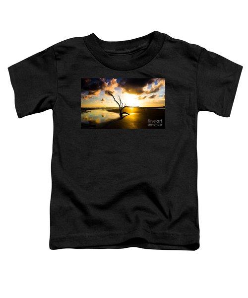 The Driftwood Tree Folly Beach Toddler T-Shirt