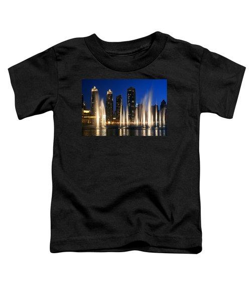 The Dubai Fountains Toddler T-Shirt