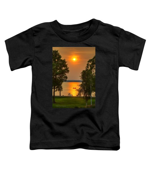 The End Of A Perfect Day Toddler T-Shirt