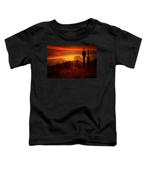 The Essence Of The Southwest Toddler T-Shirt