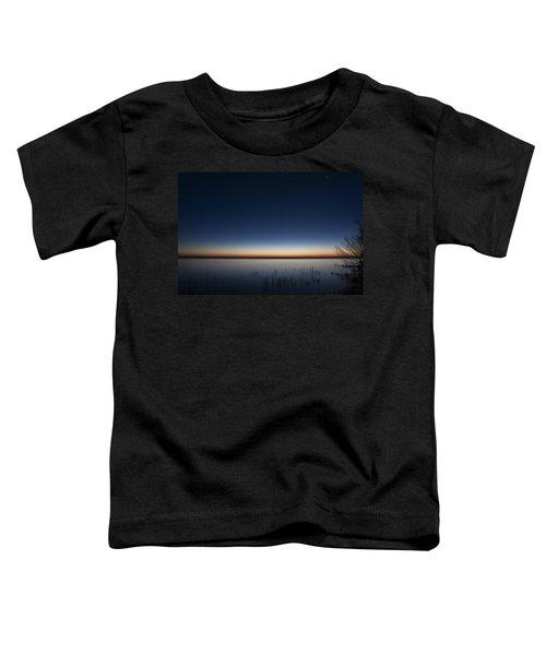 The First Light Of Dawn Toddler T-Shirt