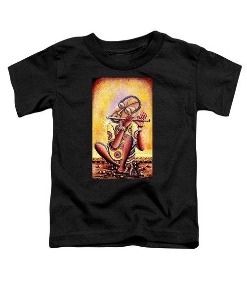 The Flutist Toddler T-Shirt
