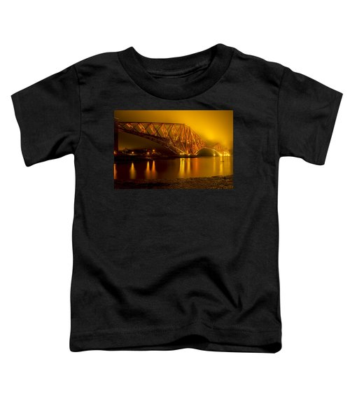 The Forth Bridge From North Queensferry Toddler T-Shirt