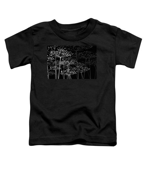 The Garden Of Your Mind Bw Toddler T-Shirt