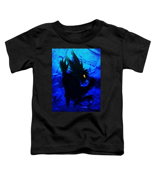 Toddler T-Shirt featuring the mixed media The Gargunny by Shawn Dall