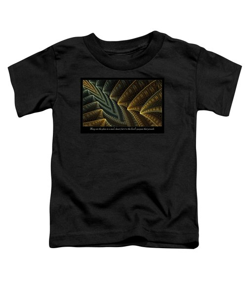 The Lord's Purpose Toddler T-Shirt