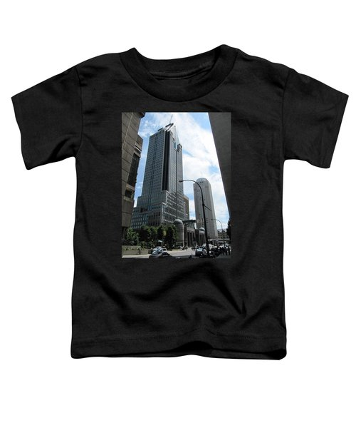 Toddler T-Shirt featuring the photograph The Montreal Skyscraper by Shawn Dall