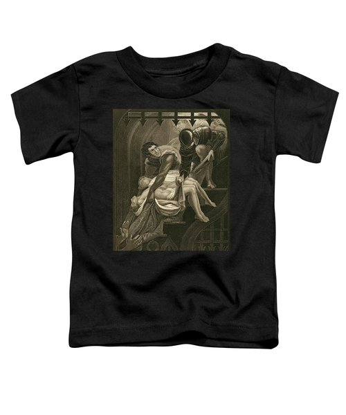 The Murder Of The Two Princes Toddler T-Shirt by James Northcote