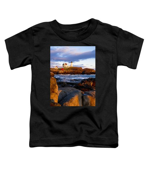 The Nubble Lighthouse Toddler T-Shirt