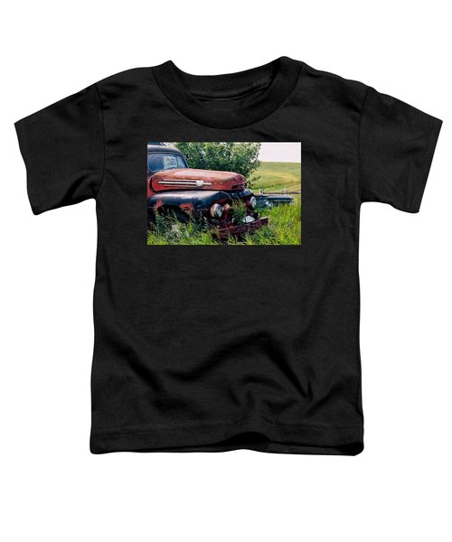 The Old Farm Truck Toddler T-Shirt