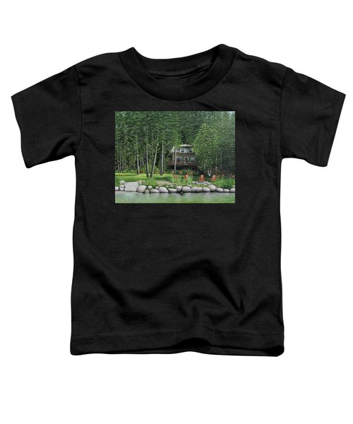 The Old Lawg Caybun On Lake Joe Toddler T-Shirt