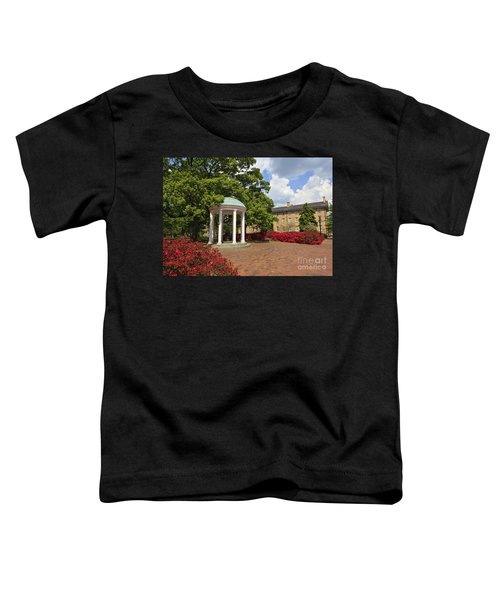The Old Well At Chapel Hill Campus Toddler T-Shirt