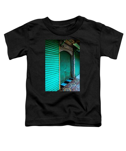 Marrakech Aqua Toddler T-Shirt