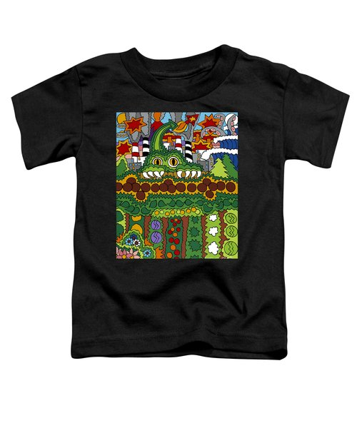 The Other Side Of The Garden  Toddler T-Shirt