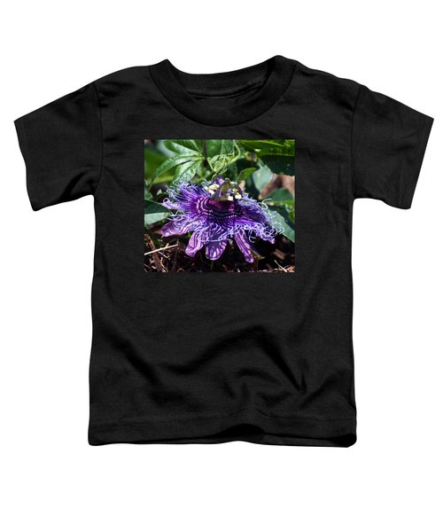 The Passion Flower Toddler T-Shirt
