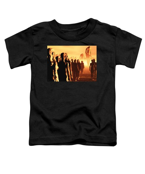 The Post Apocalyptic Gods Toddler T-Shirt