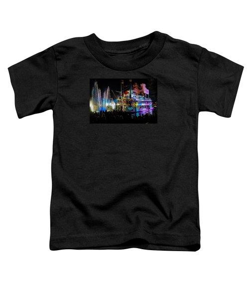 The Mark Twain Disneyland Steamboat  Toddler T-Shirt