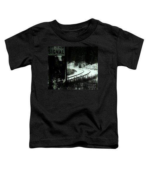 The Rail To Anywhere Toddler T-Shirt