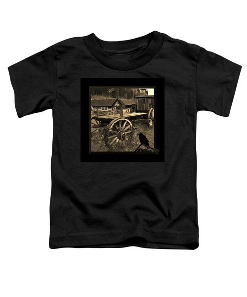 The Raven Flies Straight Toddler T-Shirt