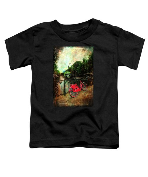 The Red Bicycle Toddler T-Shirt