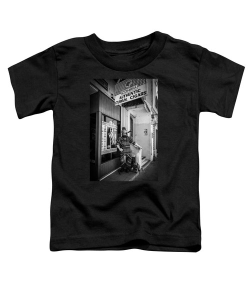 The Sidewalk Humidor  Toddler T-Shirt
