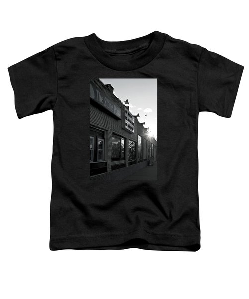 The Stone Pony Asbury Park Side View Toddler T-Shirt