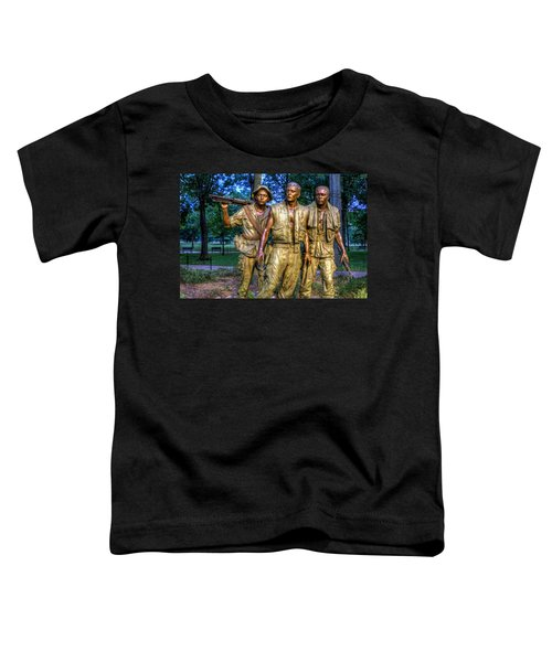 The Three Soldiers Facing The Wall Toddler T-Shirt