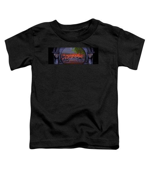The Wagon Toddler T-Shirt