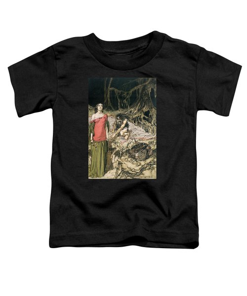 The Wooing Of Grimhilde The Mother Of Hagen From 'siegfried And The Twilight Of The Gods Toddler T-Shirt