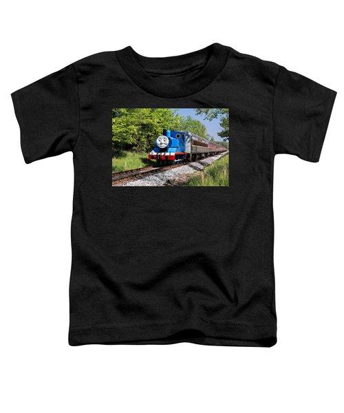 Thomas Visits The Cvnp Toddler T-Shirt