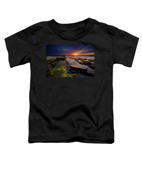 Tidepool Sunsets Toddler T-Shirt