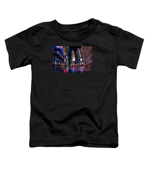 Times Square New York City The City That Never Sleeps Toddler T-Shirt