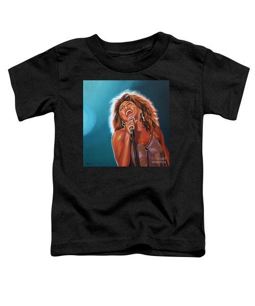 Tina Turner 3 Toddler T-Shirt
