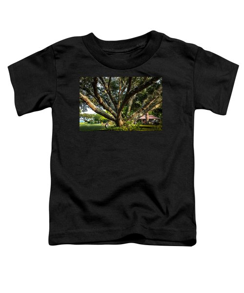 Tire Swing Toddler T-Shirt