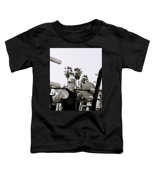 Tom Platz In Los Angeles Toddler T-Shirt