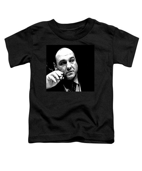 Tony Soprano Toddler T-Shirt
