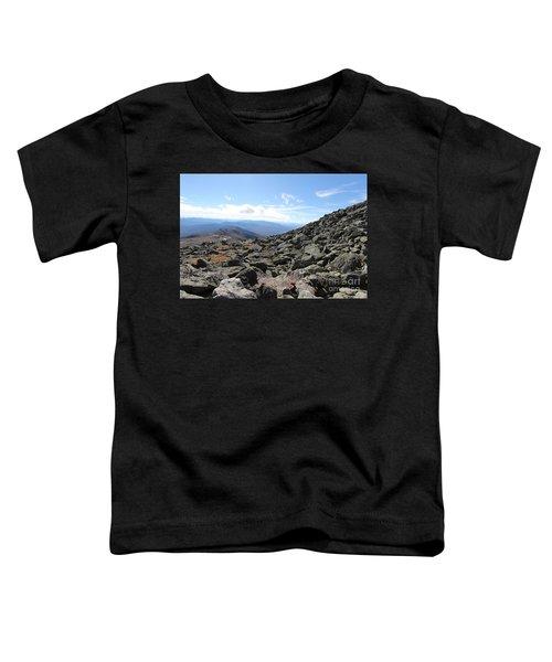 Top View Mt Washington Toddler T-Shirt