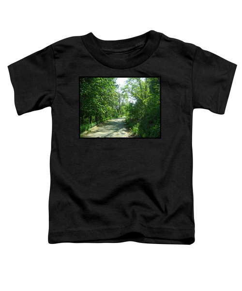 Toddler T-Shirt featuring the photograph Toronto Trails by Shawn Dall
