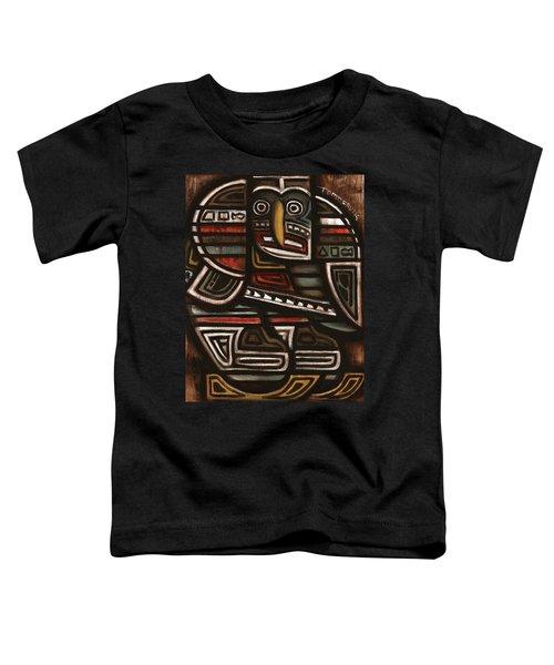 Tommervik Totem Hockey Player Art Print Toddler T-Shirt