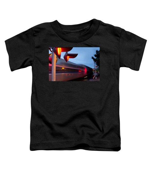 Train Crossing Road Toddler T-Shirt