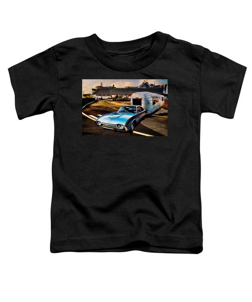 Travelin' In Style Toddler T-Shirt